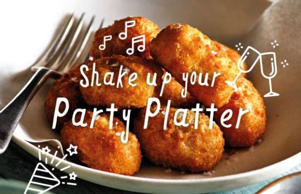 Shake up your party platter!