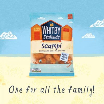 A top-notch family-sized bag of scampi? Yes, please!